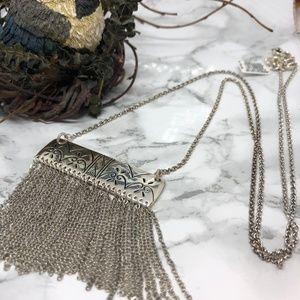 Brighton Marrakesh Long Tassel Necklace NWT